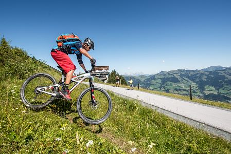 Schweizerhof Kitzbühel next to the cycling paradise